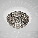 Ortenzia Ceiling Light Fixture - Nickel /