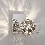 Orteniza Wall Sconce - Nickel /