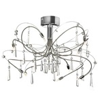 Firefly Semi Flush - Polished Chrome /