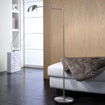 Bernie Halogen Turbo Swing Arm Floor Lamp