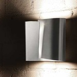 Filia Wall Light - Stainless Steel /
