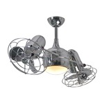 Dagny LK Metal Ceiling Fan with Light