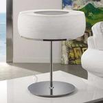 Inari Table Lamp - Nickel / Opal