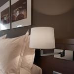 Basik 02 Wall Lamp - Chrome / Cotton