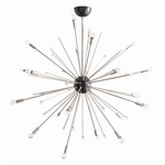 Imogene Chandelier - Polished Nickel /