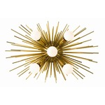Zanadoo Wall Light - Antique Brass /