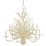 Seaward Chandelier - White /