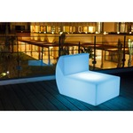 Down Bluetooth LED Sofa -  / White