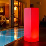 Fat Block Bluetooth Table Lamp -  / White