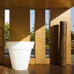 Gota Bluetooth Lighted Planter -  / White