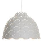 LC Shutters Pendant - Aluminum / White