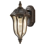 Baton Rouge Outdoor 6001 Wall Light - Walnut / Tinted Gold Luster