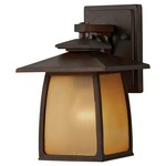 Wright House Lantern Outdoor Wall Sconce