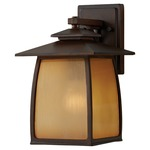 Wright House Outdoor Wall Light - Sorrel Brown /