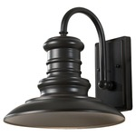 Redding Station Outdoor Wall Light - Restoration Bronze /