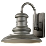 Redding Station Outdoor Wall Light - Tarnished /