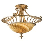 Bancroft Semi Flush Mount