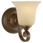 Vista Bath and Vanity Fixture - Corinthian Bronze/ Cream Snow /