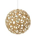 Coral Pendant - Bamboo / Caramel
