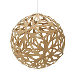 Floral Pendant - Bamboo / Caramel / Caramel
