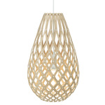 Koura Pendant - Bamboo / Caramel