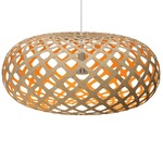 Kina Pendant -  / Natural / Orange