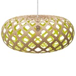 Kina Pendant - Bamboo / Natural / Lime
