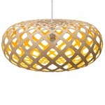 Kina Pendant - Bamboo / Natural / Yellow