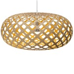 Kina Pendant -  / Natural / Yellow