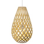 Koura Pendant - Bamboo / Natural / Yellow