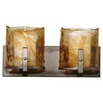 Aris Bath Bar - Roman Bronze / Amber Swirl