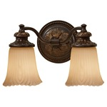 Emma Wall Sconce - Grecian Bronze / Cream Etched