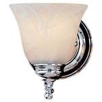 Bristol Bath Bar - Chrome / White Alabaster
