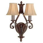 Tuscan Villa 2 Light Wall Sconce