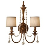 Clarissa 2 Light Wall Sconce