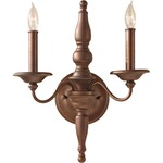 Yorktown Heights 2 Light Wall Sconce