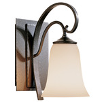 Scroll Wall Light - Bronze / Opal