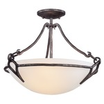 Pompeii Semi Flush Mount