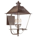 Montgomery Covered Outdoor Wall Sconce