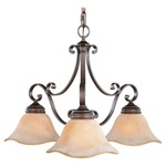 Tuscan Villa Downlight Chandelier