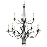 Boulevard Multi Tier Chandelier