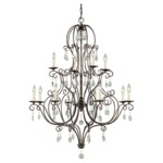 Chateau Multi Tier Chandelier
