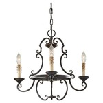 Barnaby 3 Light Chandelier
