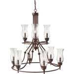 Pickering Lane Two Tier Chandelier