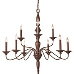 Yorktown Heights Double Tier Chandelier