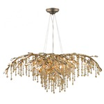 Autumn Twilight 9903 Chandelier - Mystic Gold / Crystal
