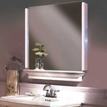 Alinea LED Bathroom Vanity Light - Satin Chrome