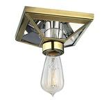Thurston Ceiling Light Fixture - Aged Brass /