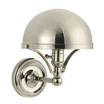 Covington Wall Light - Polished Nickel /