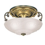 Americana Filigree Flush Mount